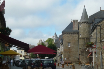 Bedrooms in Combourg, a picturesque town in Brittany close to Saint-Malo