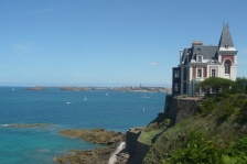 City tours in Dinard (Brittany)