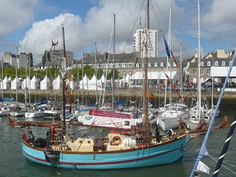 Sailing is also part of the interceltic festival in Lorient