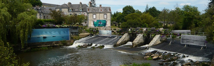 La Gacilly, a charming town in Brittany