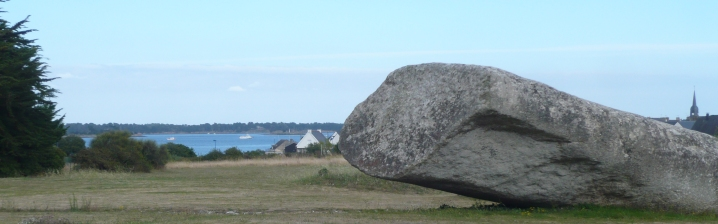 Megaliths along the Gulf of Morbihan (Locmariaquer)