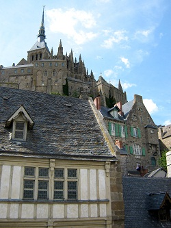 The abbey, marvel of Mont Saint Michel