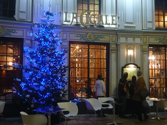 Famous places in Nantes (la Cigale restaurant)