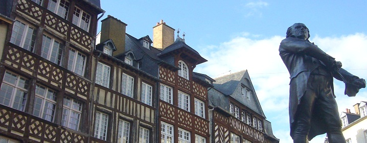Rich heritage and architecture in Rennes (Brittany)
