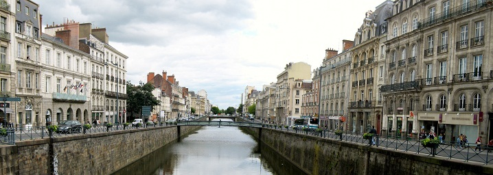 Rennes (Brittany), along the Vilaine river