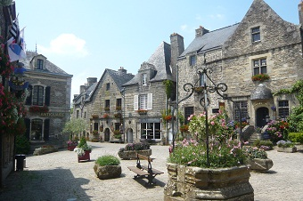 Villages pittoresques en Bretagne