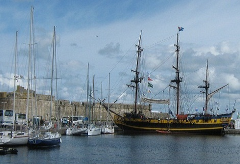 Visit Saint Malo and its corsair past